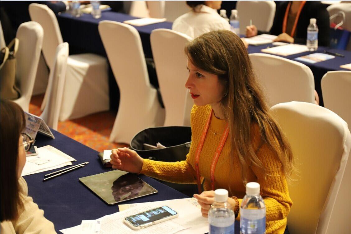 foto en conferencia China